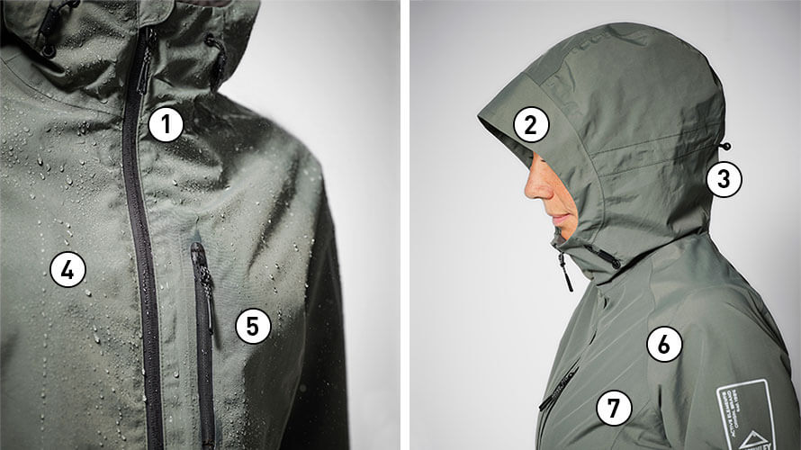 Intersport guide för att välja rätt kläder för regnet