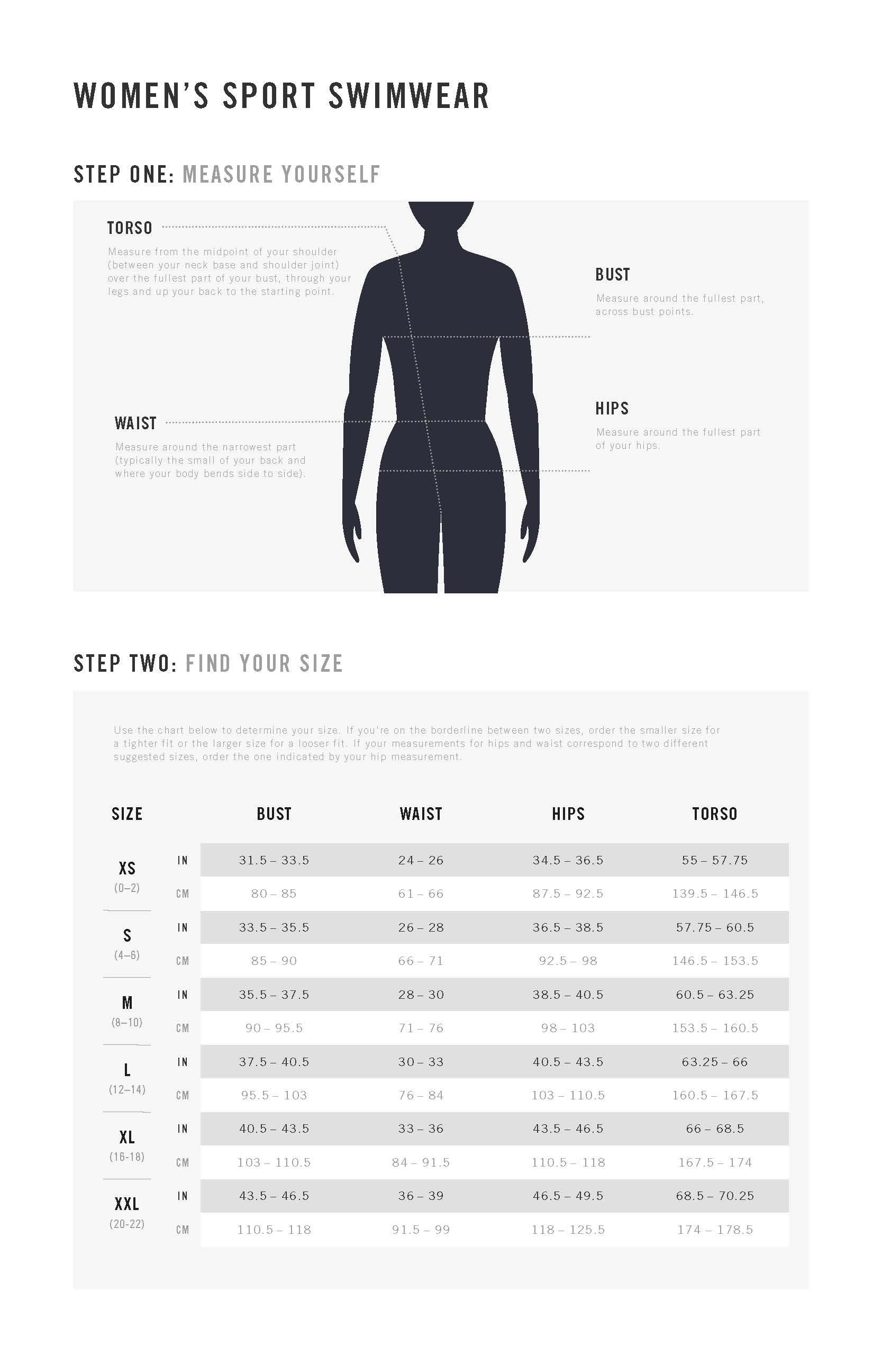 Storleksguide Nike Köp online hos Intersport